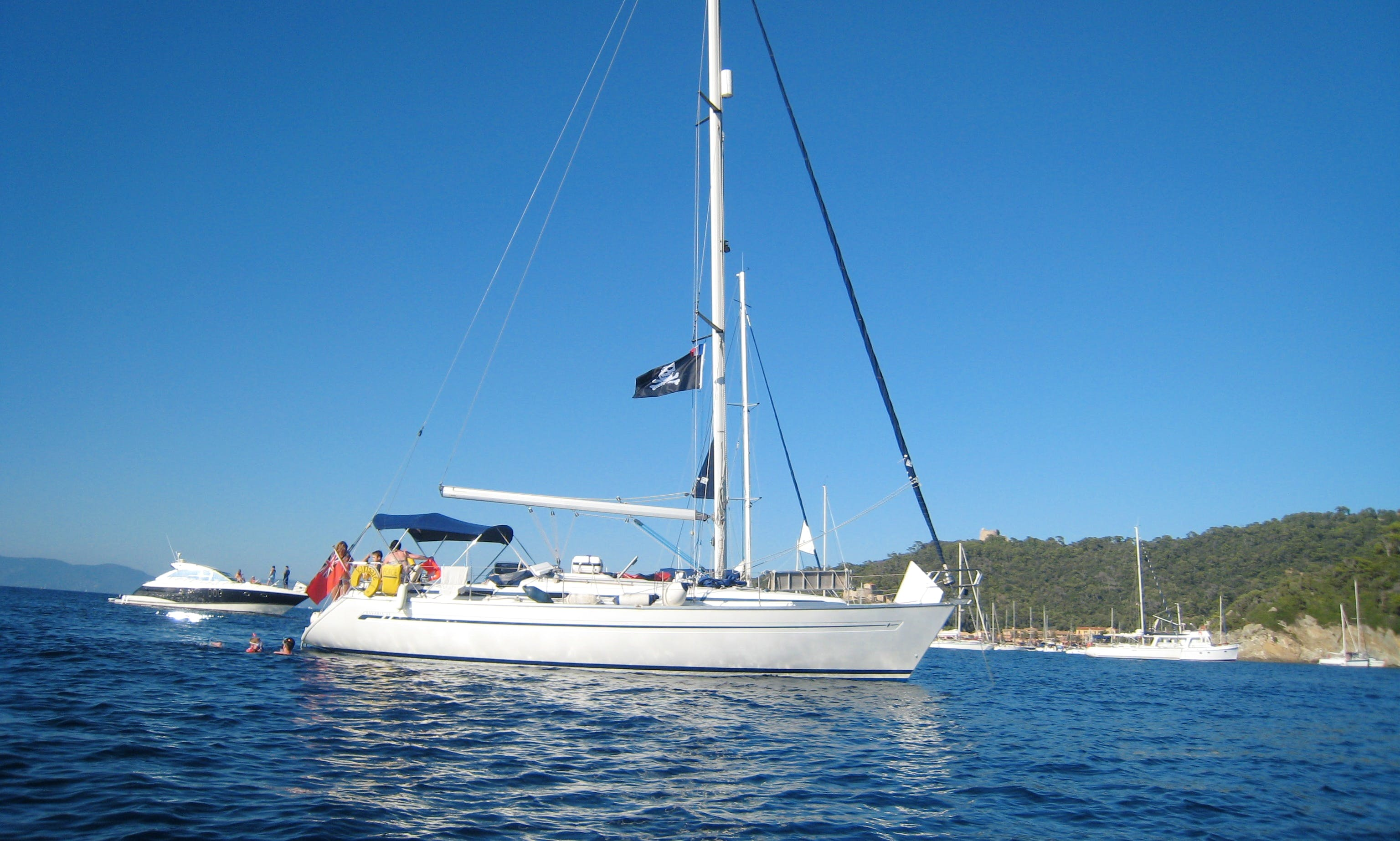 Skippered Sailing Yacht Rental in Bormes-les-Mimosas, France