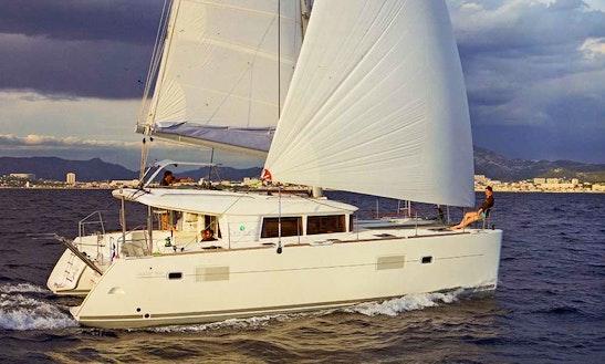 Cruising Catamaran Rental In Paleo Faliro