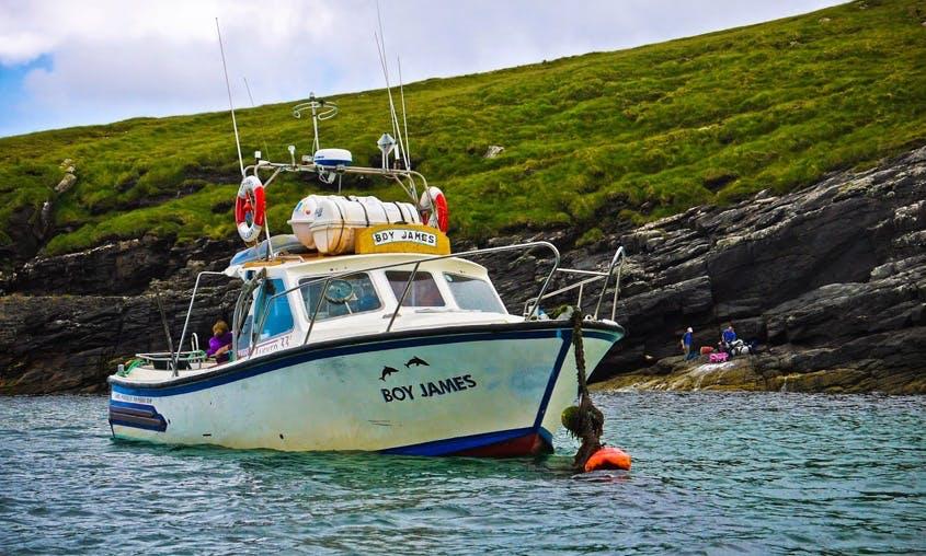33' Sport Fisherman Charter In Isle of Barra, United Kingdom