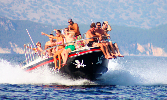 Black Pearl Speedboat Trip In Corfu