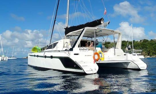 Cruising Catamaran Rental In Cruz Bay