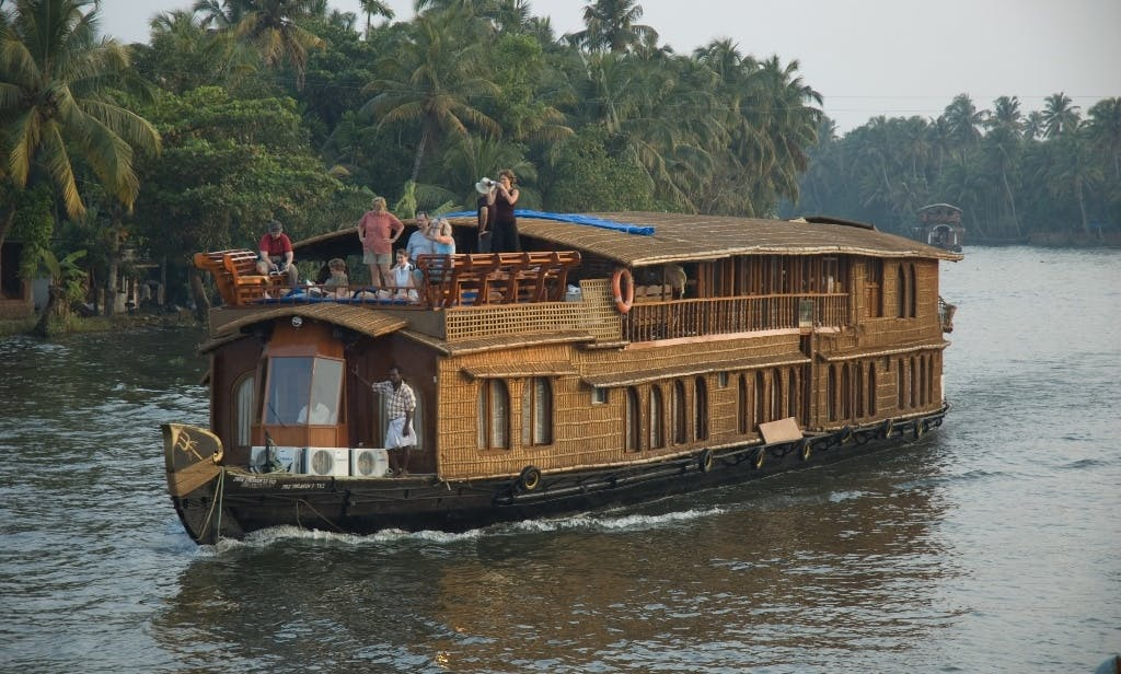 Exciting River Cruise on the Backwater of Kerala aboard 18 People Houseboat