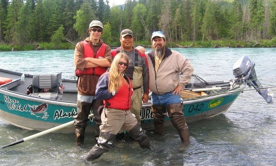 Canyon Fishing Trip For 2 Person With A Drift Boat In Cooper Landing, Alaska
