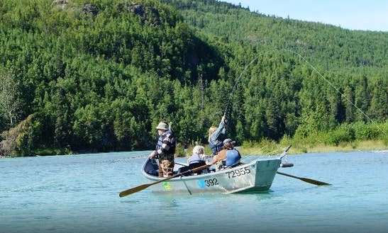 Guided fishing trips on 20 39 jon boat in sterling alaska for Cooper landing fishing guides