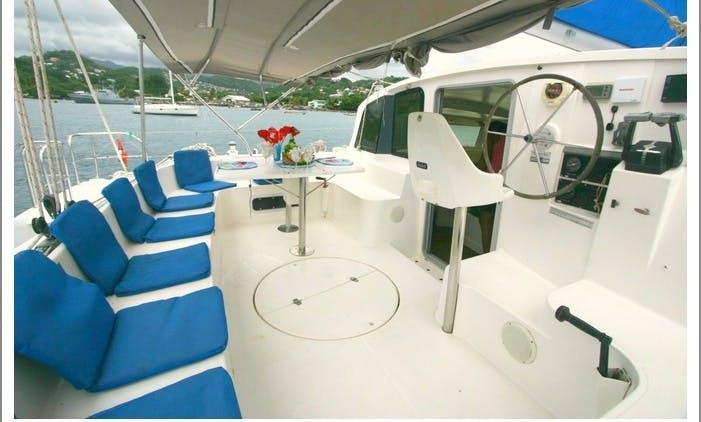 """Inordinate"" Catamaran Charter in St Vincent"