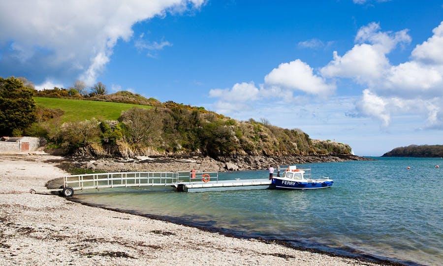 Ferry Boat Trips In Helford Passage