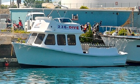 Custom Dive Boat Charter In Bermuda