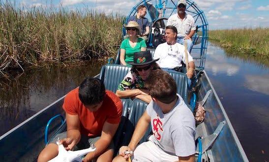 Airboat Tours In Weston, Florida