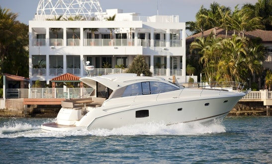 Charter Prestige 440 Luxury Motored Yacht