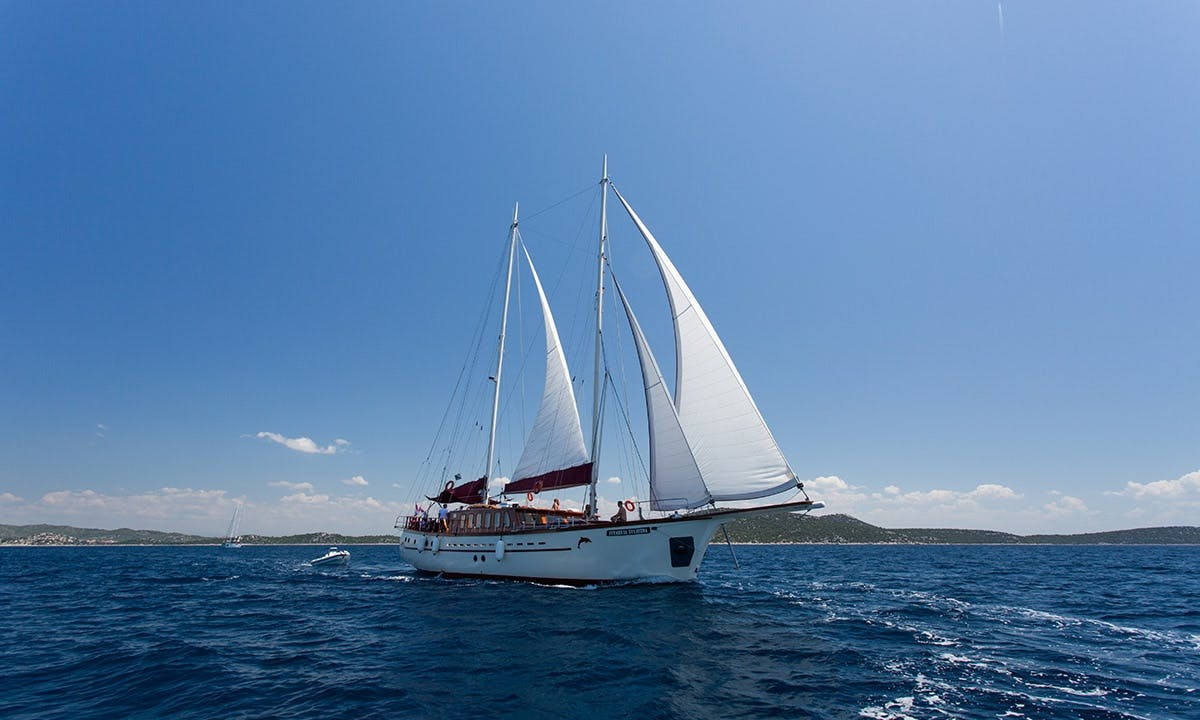 Charter Morning Star Gulet in Split