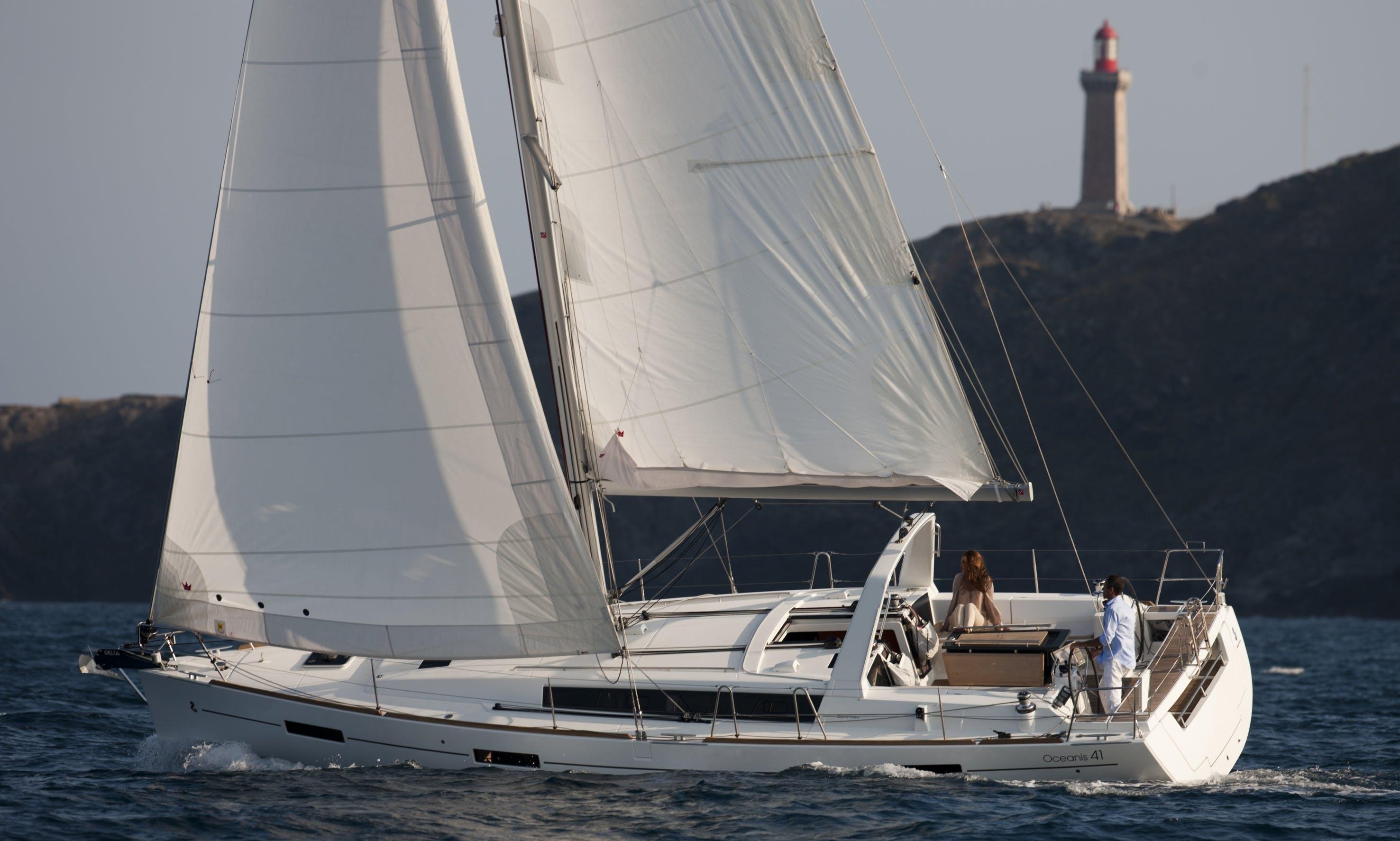 Experience Split, Croatia with this amazing Beneteau Oceanis Sailboat