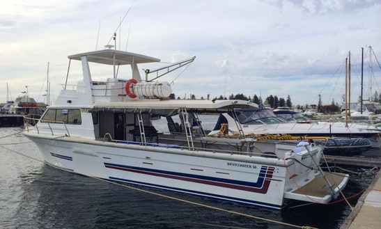 Charter A Westcoaster 50 Trawler For 45 Person In Perth, Australia