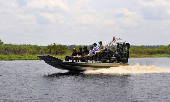Private Airboat Tours And Fishing Charters