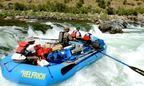 Mckenzie River Rafting In Oregon