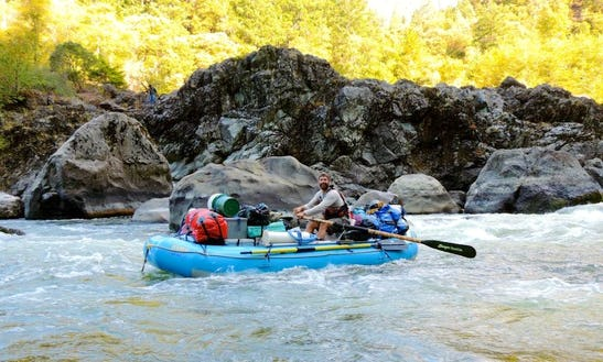 John Day River Rafting In Oregon