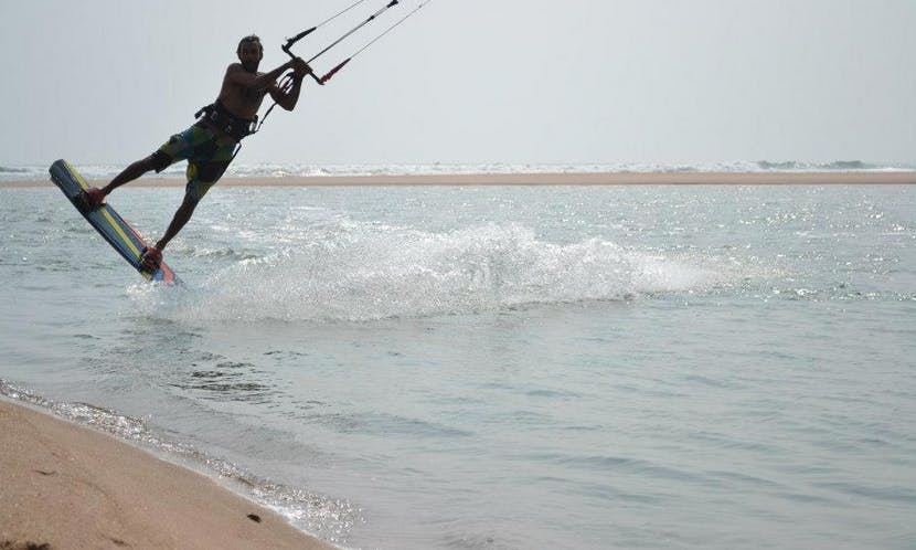 Kitesurfing Lessons in Mandrem, India