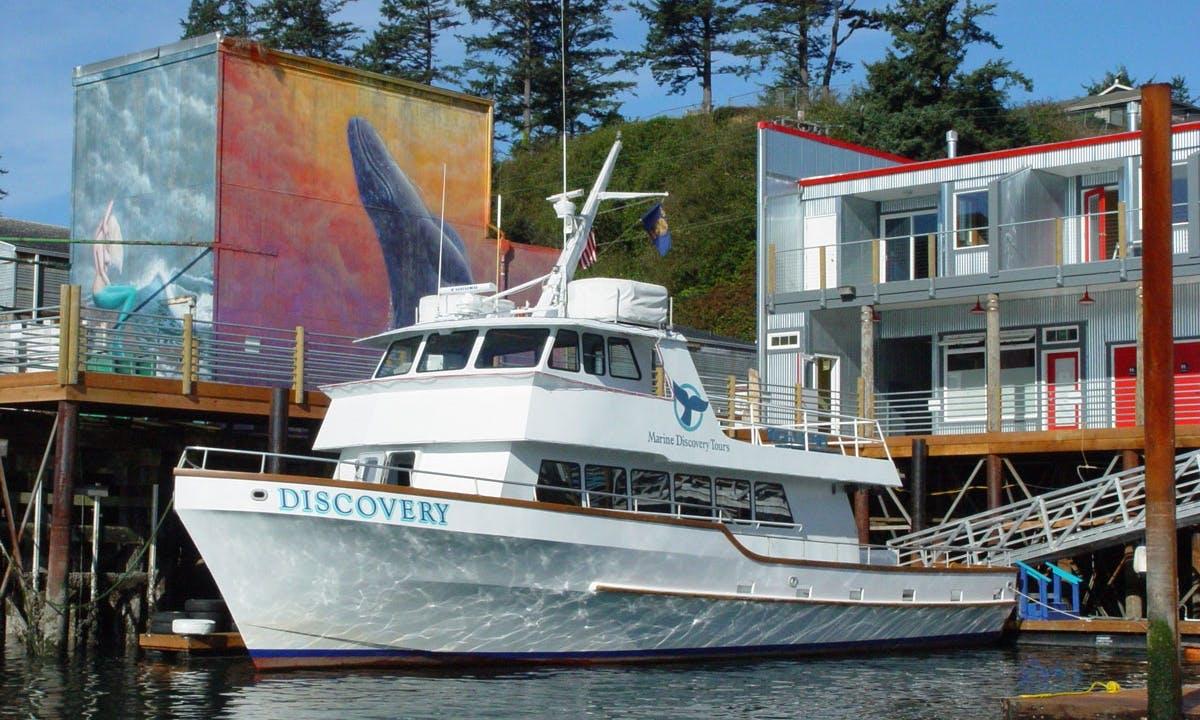 65' Charter Tours, Newport Oregon
