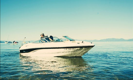 8 People 22' Bowrider Charter In Incline Village, Nevada