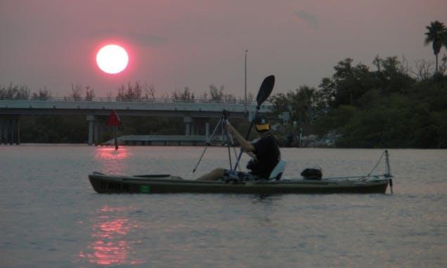 Motorized Kayak Tours in Fort Pierce, Florida
