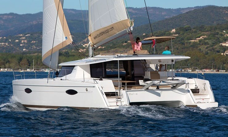"Sailing Charter ""Helia 44"" in Montenegro"