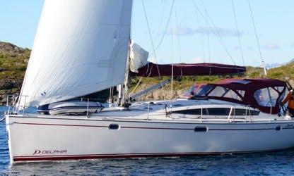 Amazing Adventure with Delphia 47 Sailing Yacht Charter in Tromsø, Norway
