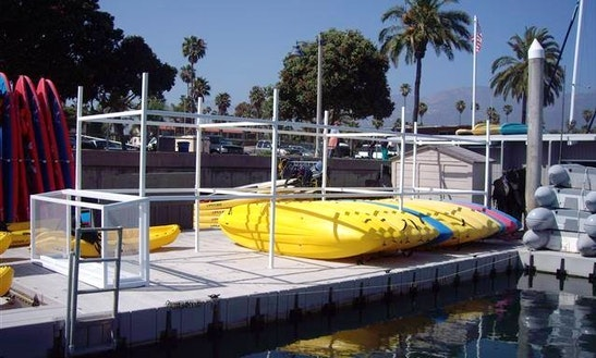 Single Kayaks For Rent In Santa Barbara