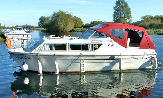 Prague Viking 26 Canal Motor Yacht Hire