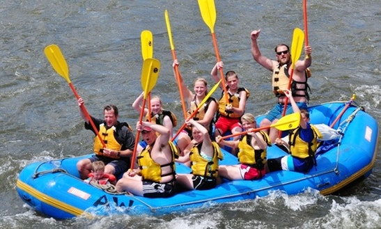 Colorado River Rafting Overnight