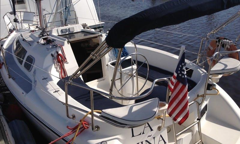 28' Cruising Monohull Charter in Fernandina Beach, Florida