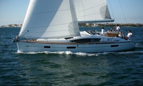 Luxury Cruising Monohull Sun Odyssey 42  Charter in Punta Ala