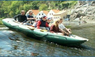 Canoe Rental in Český Krumlov