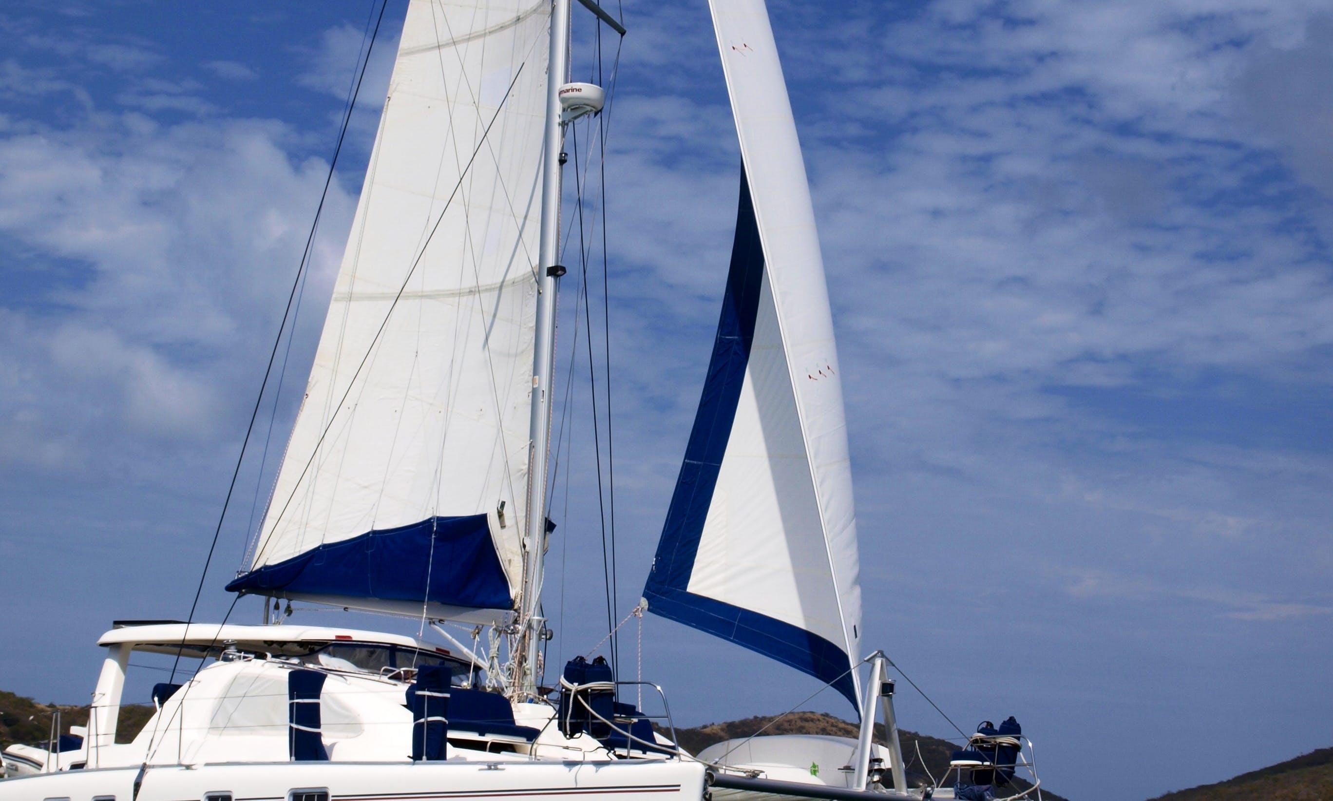 Cruising Catamaran Rental in Charlotte Amalie