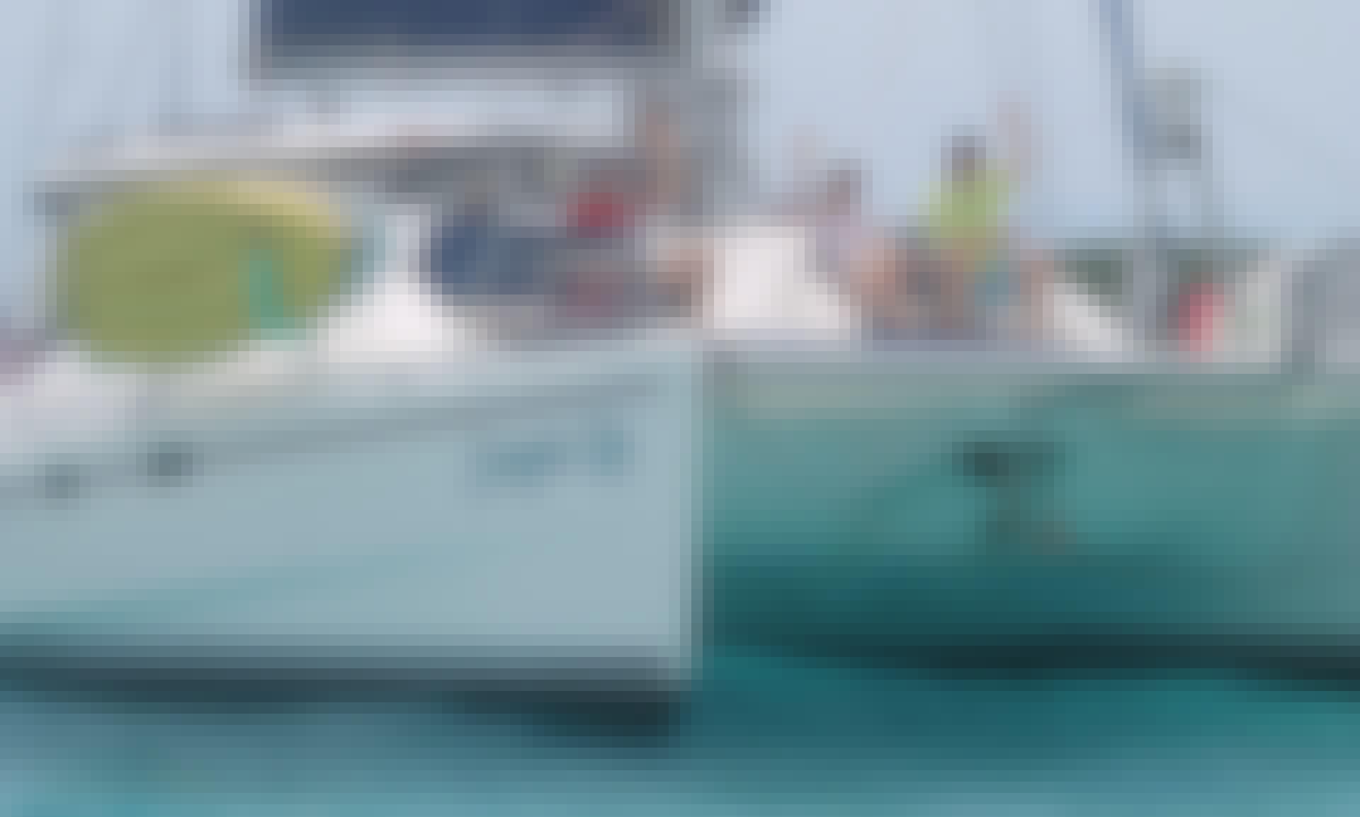 "Charter the 43' Catamaran ""Steppin Up"" in Charlotte Amalie"