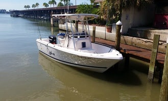 Captained Charters 23' Seahunt Center Console Boat in Madeira Beach