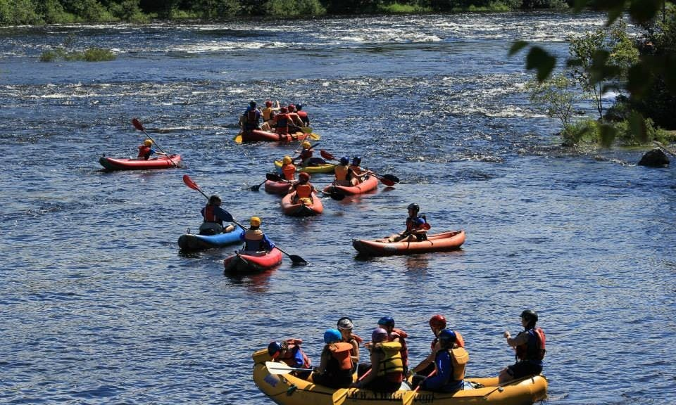 Kayak, Canoe, Whitewater rafting