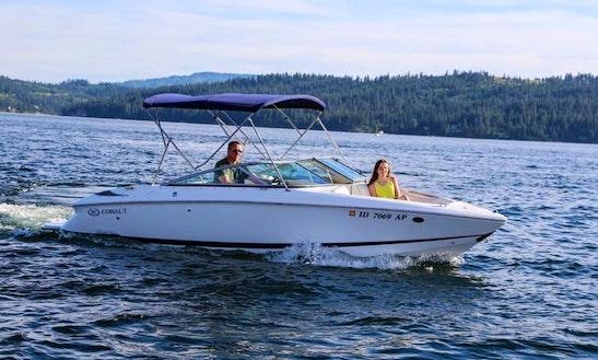 Cobalt 20' Boat Rental In Spokane, Washington