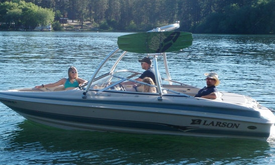 Larson 19' Lxi Boat Rental In Spokane, Washington