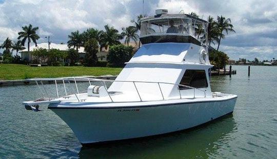 Enjoy 34' Sportfishing Yacht Charter In Marco Island, Florida