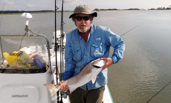 25' Center Console Fishing Charter In Georgia