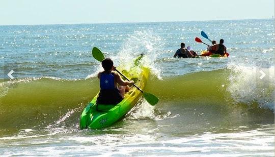 Guided Single Kayak Tour In Virginia Beach