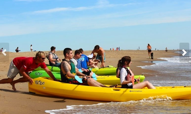 Guided Tandem Kayak Tour in Virginia Beach