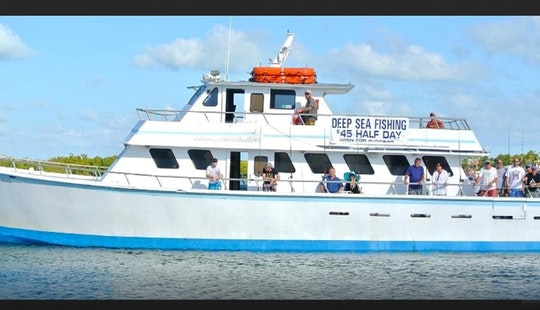 Enjoy Deep Sea Party Boat Fishing Trip In Islamorada, Florida