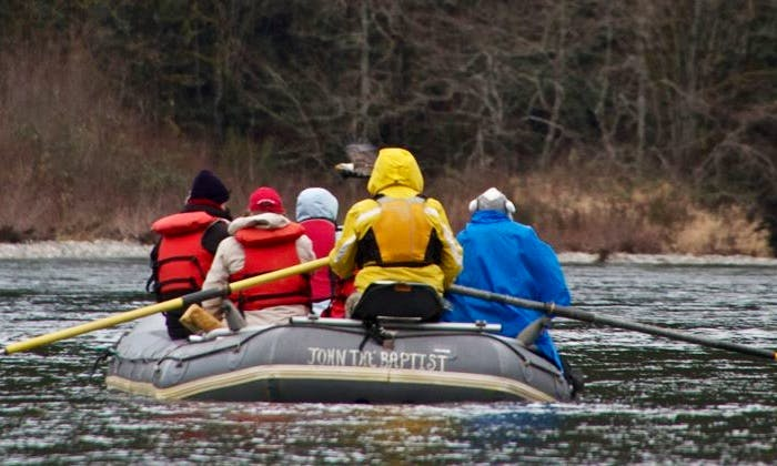 White Water Rafting on the Skagit River