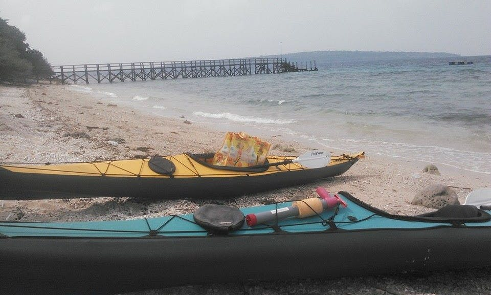 Kayak Tour in Putu Bali