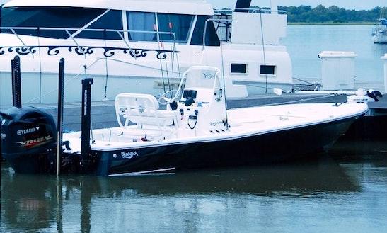 16ft Technical Poling Flats Boat In Charleston, South Carolina
