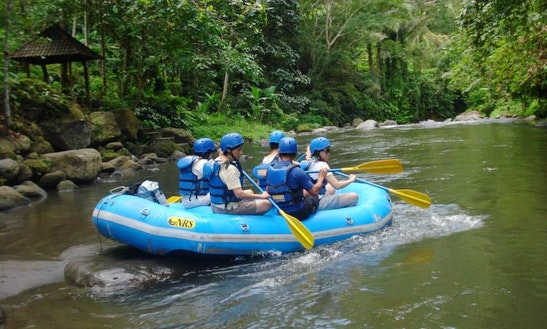 White Water Rafting In Bali, Indonesia