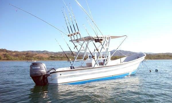Super Panga Fishing Charter 'Minerva' in Zihuatanejo