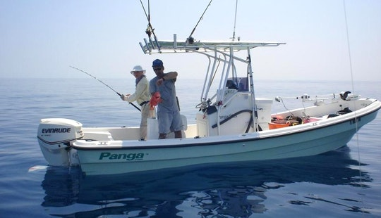 Super Panga Fishing Charter 'moramay' In Zihuatanejo