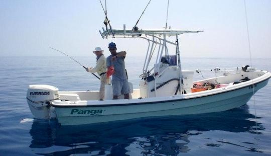 Super Panga Fishing Charter 'moramay' In Zihuatanejo