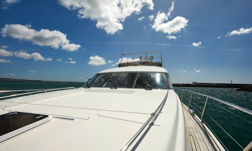 "72ft ""Princess"" Power Mega Yacht Charter in Lisbon, Portugal"